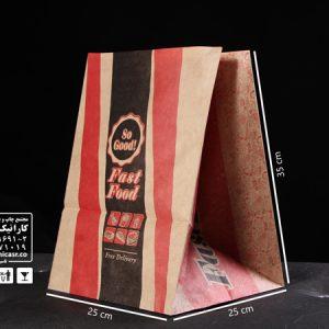 پاکت پیتزا کرافت طرح عمومی